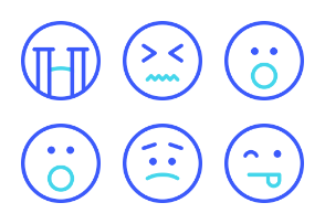 Emoticon Set from Iconspace