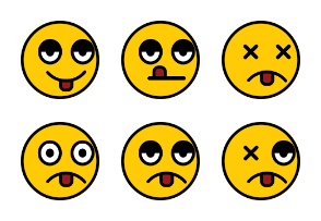 Emoticon Set Volume 7