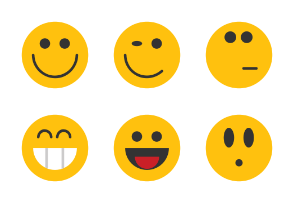 Emoticons - Round Smileys