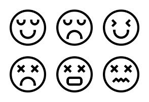 Emotion Face Thirty Two - Pahing