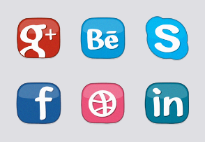 Erlen's Social Media Icon Set
