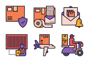 Express Delivery Service Color