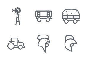 Farming - Outline Style