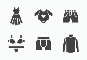 Fashion: Clothes - Glyph