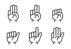 Finger Counting and Gesture Outline