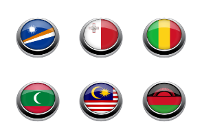 Flags button part 3