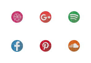 flat colourful Icons