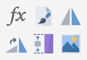 Flat Design - Imaging set 1