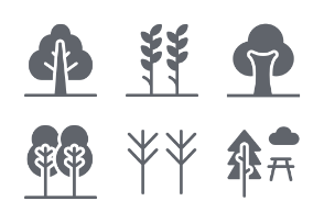 Flowers and Plants Glyphs vol 5