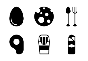Food and Beverage (Glyph/Solid)