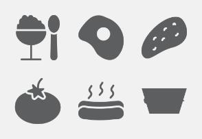 Food and Drink Glyphs vol 3