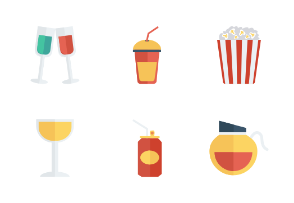 Food and Drinks Flat vol 4