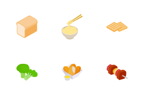 Food - isometric