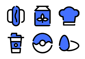 Foods and Beverages (Blue Field)