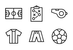 Football Outline