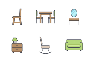 Furniture Color Icon