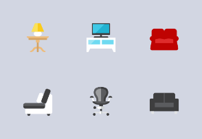 Furnitures Icons