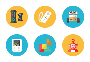 Geek Zone Icons - Rounded