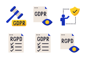 General Data Protection Regulation - GDPR / RGPD Flat