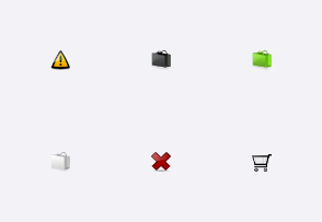 Glossy eCommerce Icons Pack
