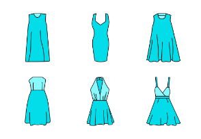 Gown styles