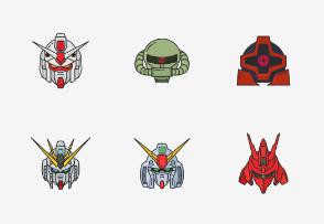 Gundam - Colored