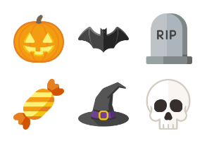 Halloween - Icon't Event Flat