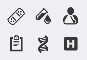 Healthcare and Medicine icons 1