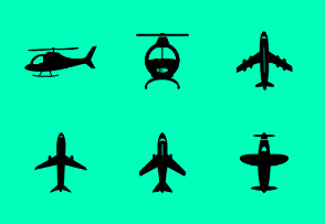 Helicopter & Airplane