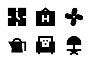 Hotel Services Glyph 24 ver 2