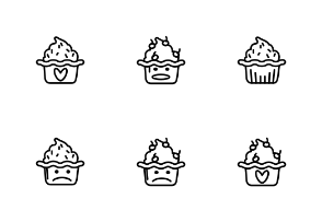 Ice Cup Cake