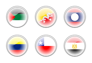 icon flags of the world collection
