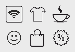 Icons for lifestyle