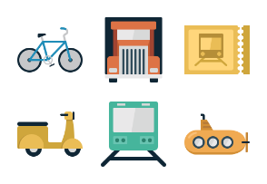 iconsimple: transportation