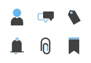 Interface (Blue & Black)