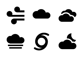 Weather - Jumpicon (Glyph)
