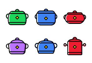 Kitchen Tools - Cartoony