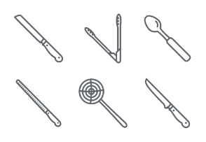 Kitchen tools lineal