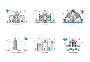 Landmarks Illustration vol 2