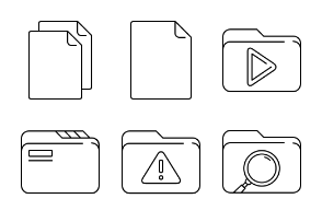Line Documents and Folders