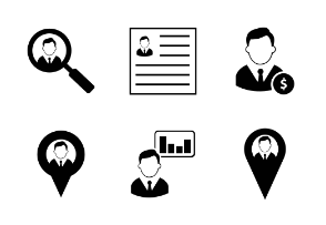 Male User Icons