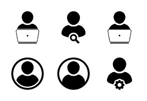 Man, User, Human, Person, Business Profile Avatar