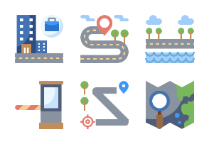 Map Flaticons
