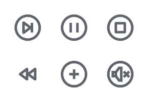 Media buttons