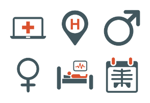 Medical and Health Care Service Icons