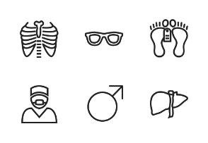Medical Linear (Black)