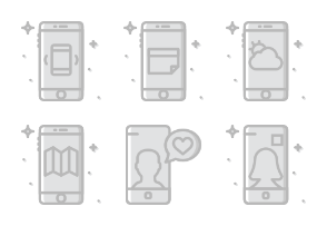 Mobile Functions  - Greyscale - Vol 2