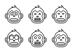 Monkey Face Set Volume 2