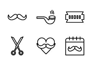 Movember Line Style