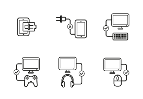 Multimedia Devices Line Grey